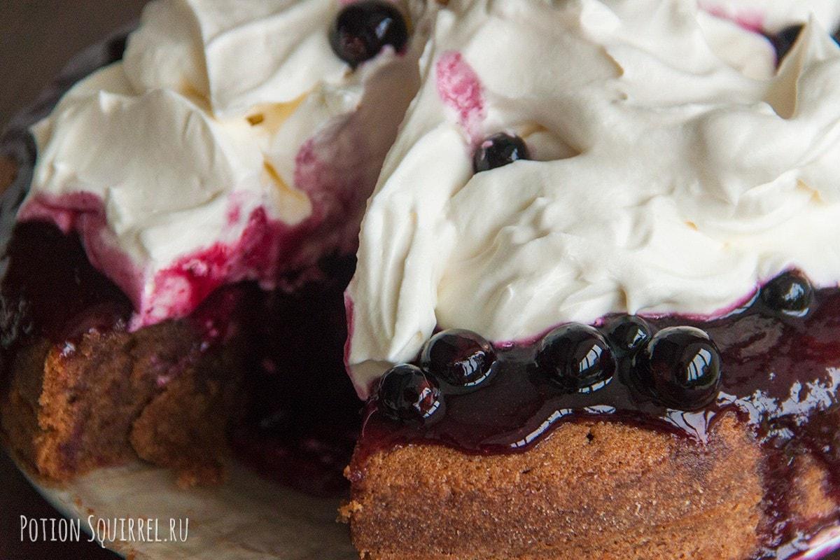 Пирог из грецких орехов с джемом. Пошаговый рецепт с фото от potionsquirrel.ru