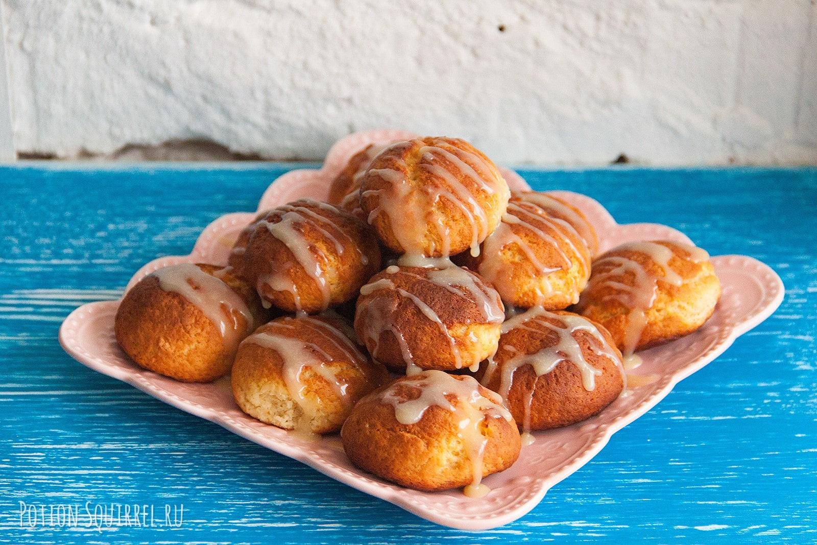 Лимонно-творожное печенье. Фото, ингридиенты, пошаговый рецепт от PotionSquirrel.ru