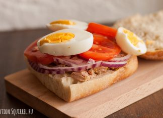 "A great sandwich with a tuna called ""Thompson"""