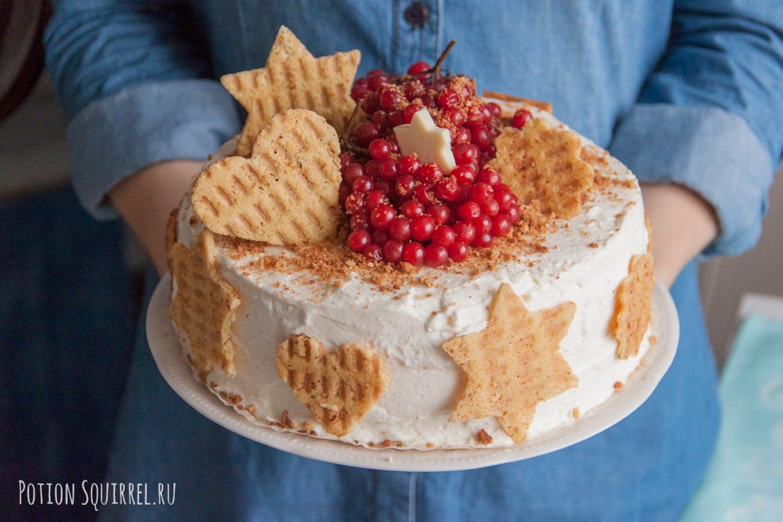 Авторский морковный торт, от которого невозможно оторваться. Фото и рецепт от potionsquirrel.ru