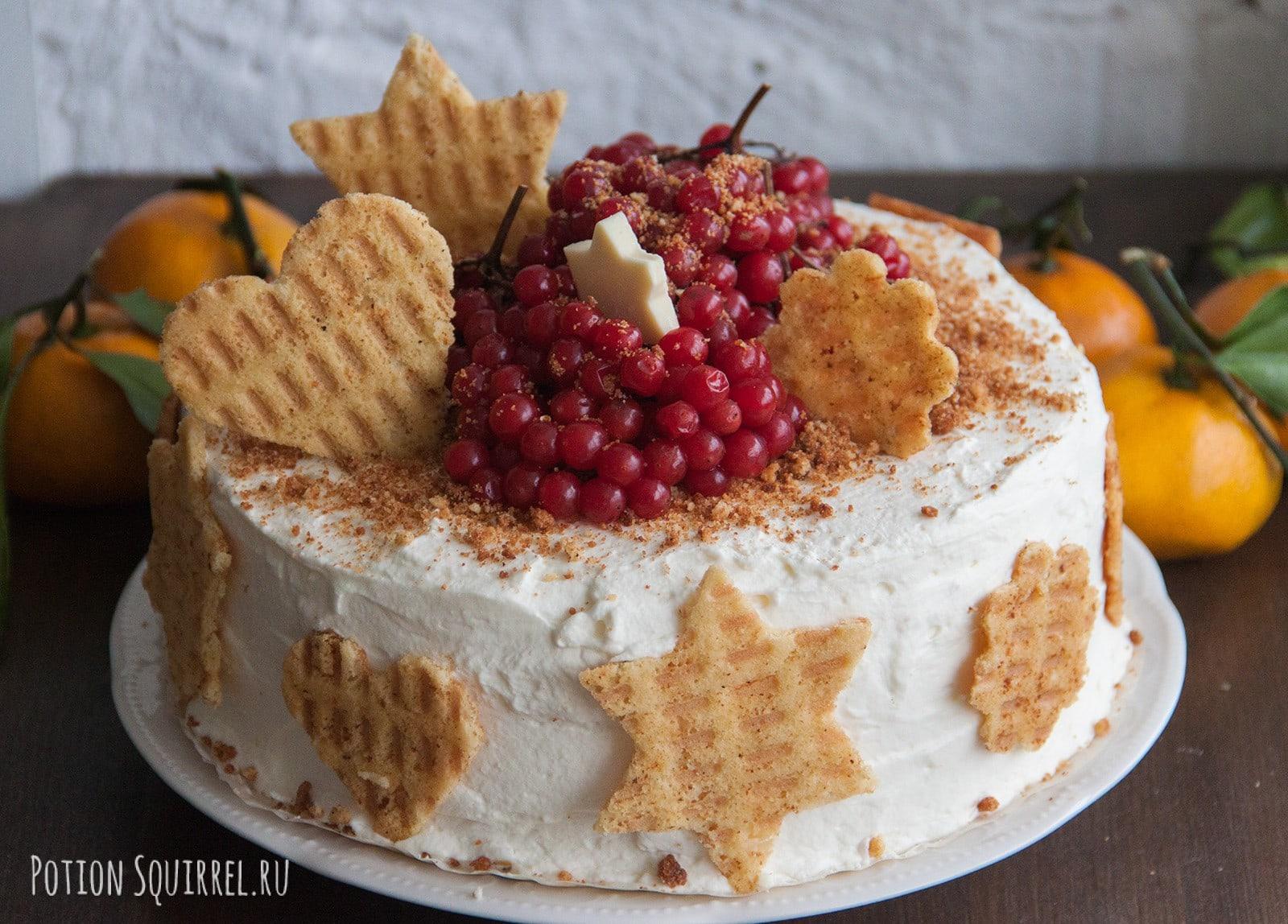 Морковный торт с кокосом и орехами. Пошаговый рецепт с фото от potionsquirrel.ru