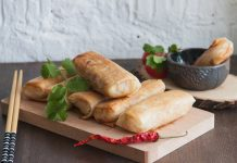 It's almost like sushi for vegans. Try our recipe for tasty and useful spring rolls filled with vegetables. Crispy Spring Rolls with Stewed Vegetables. The recipe from potionsquirrel.ru