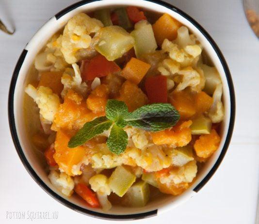 Тыквенный кари - рецепт для тех что ценит полезную пищу. Фотографии и пошаговые инструкции приготовления от potionsquirrel.ru