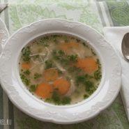 Суп вермишелевый с курицей