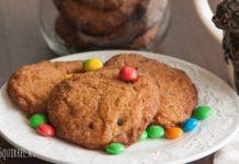 Американское печенье с кусочками темного шоколада от potionsquirrel.ru