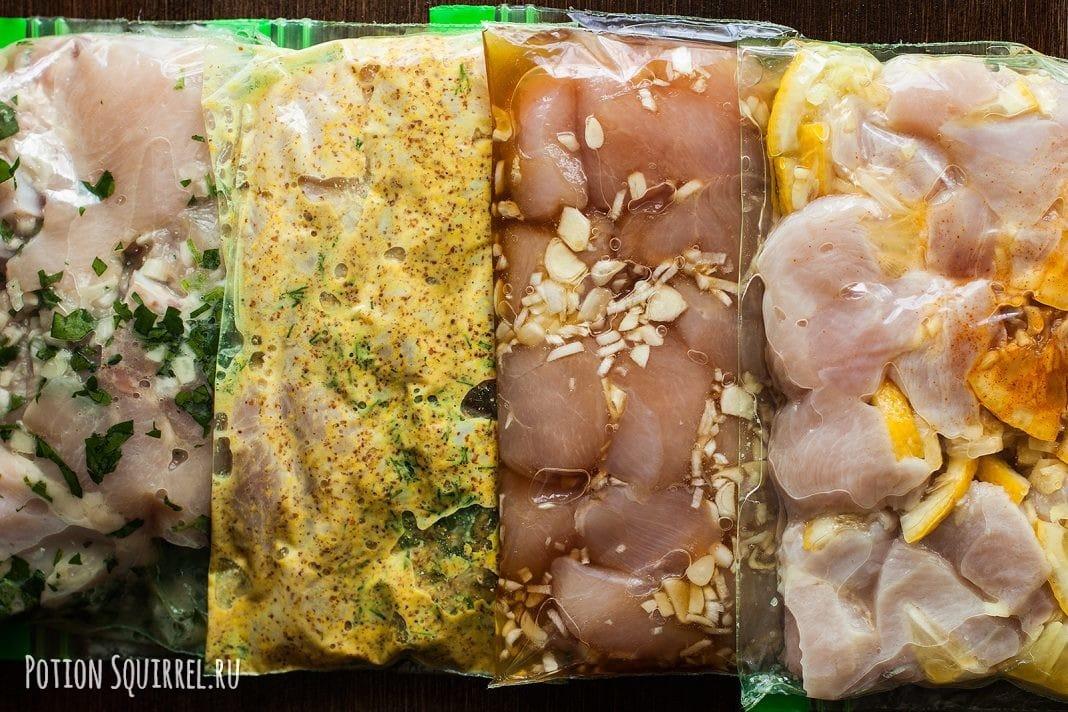 Как приготовить четыре отличных маринада для курицы расскажет potionsquirrel.ru