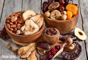 Есть сухофрукты вместо покупных десертов. Советы от potionsquirrel.ru