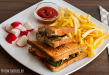 Отличный сэндвич с курицей по рецепту от potionsquirrel.ru