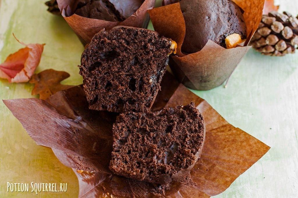 Шоколадные маффины, рецепт и фото potionsquirrel.ru