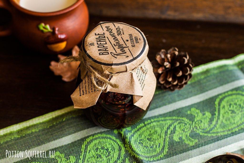 Тонкие эластичные блины на молоке с вареньем из шишек. Рецепт и фото potionsquirrel.ru