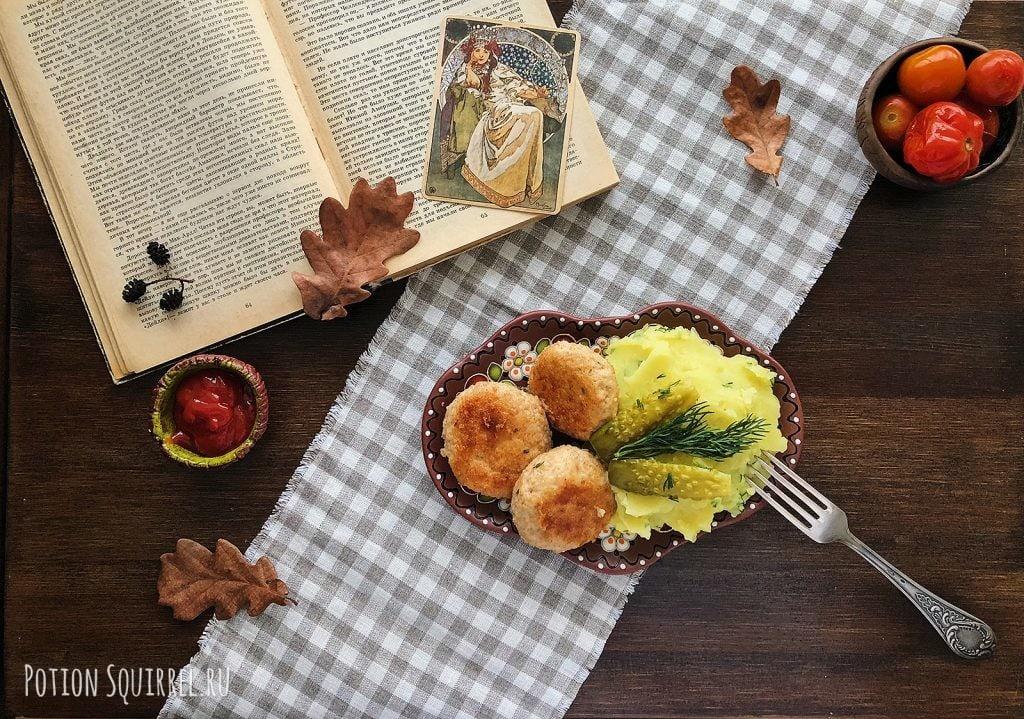 Простой рецепт вкусных котлет из индейки от potionsquirrel.ru