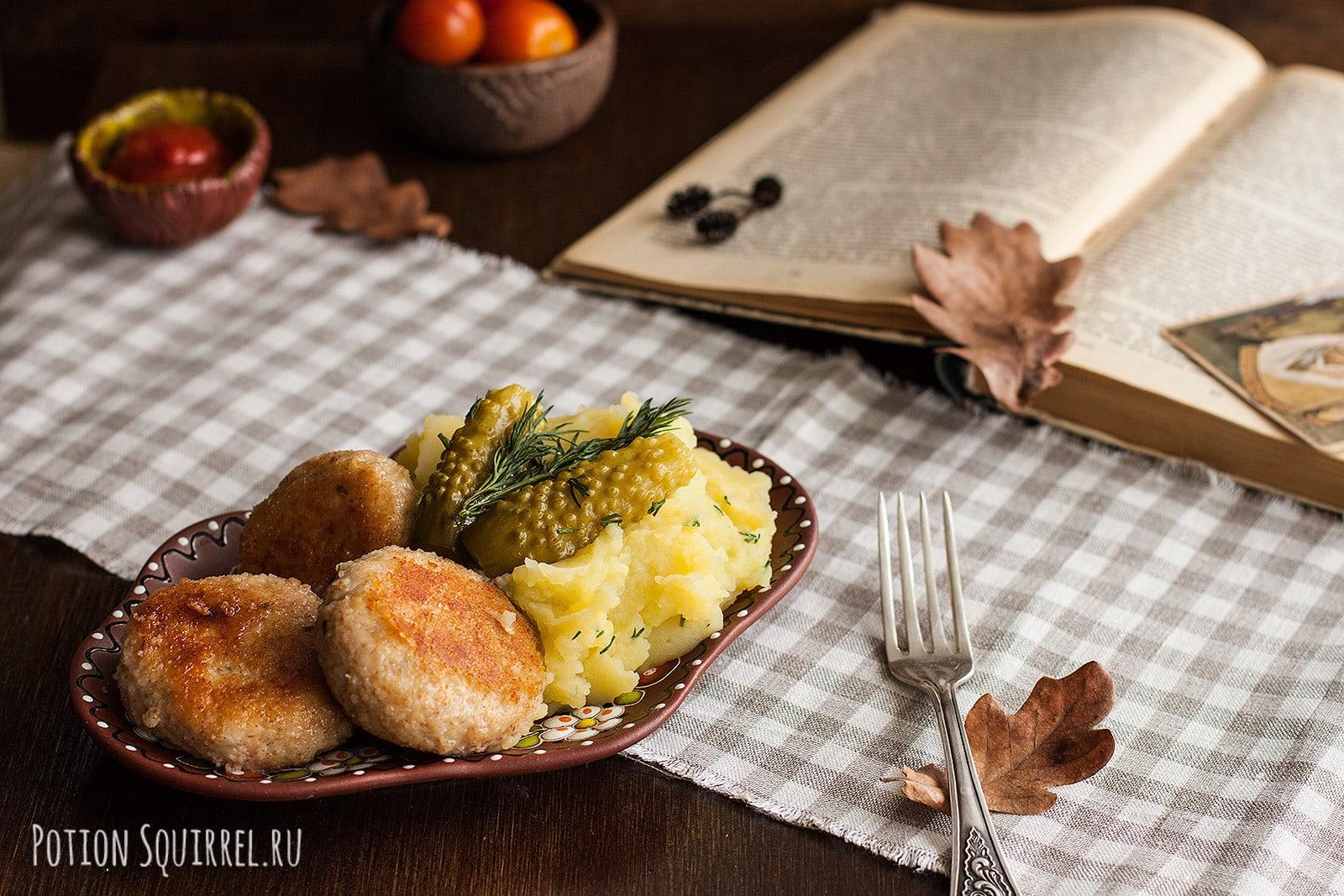 Всегда вкусные сочные котлеты из постного мяса индейки на вашем столе. Рецепт и фото от potionsquirrel.ru