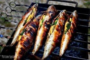 Специи для рыбы, жареной на гриле