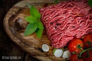 Фарш говяжий польза