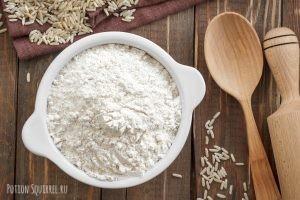 Рисовая мука и ее польза