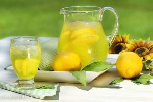 Lemon juice for the body