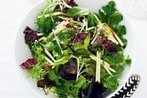 Калорийность и польза салатных листьев
