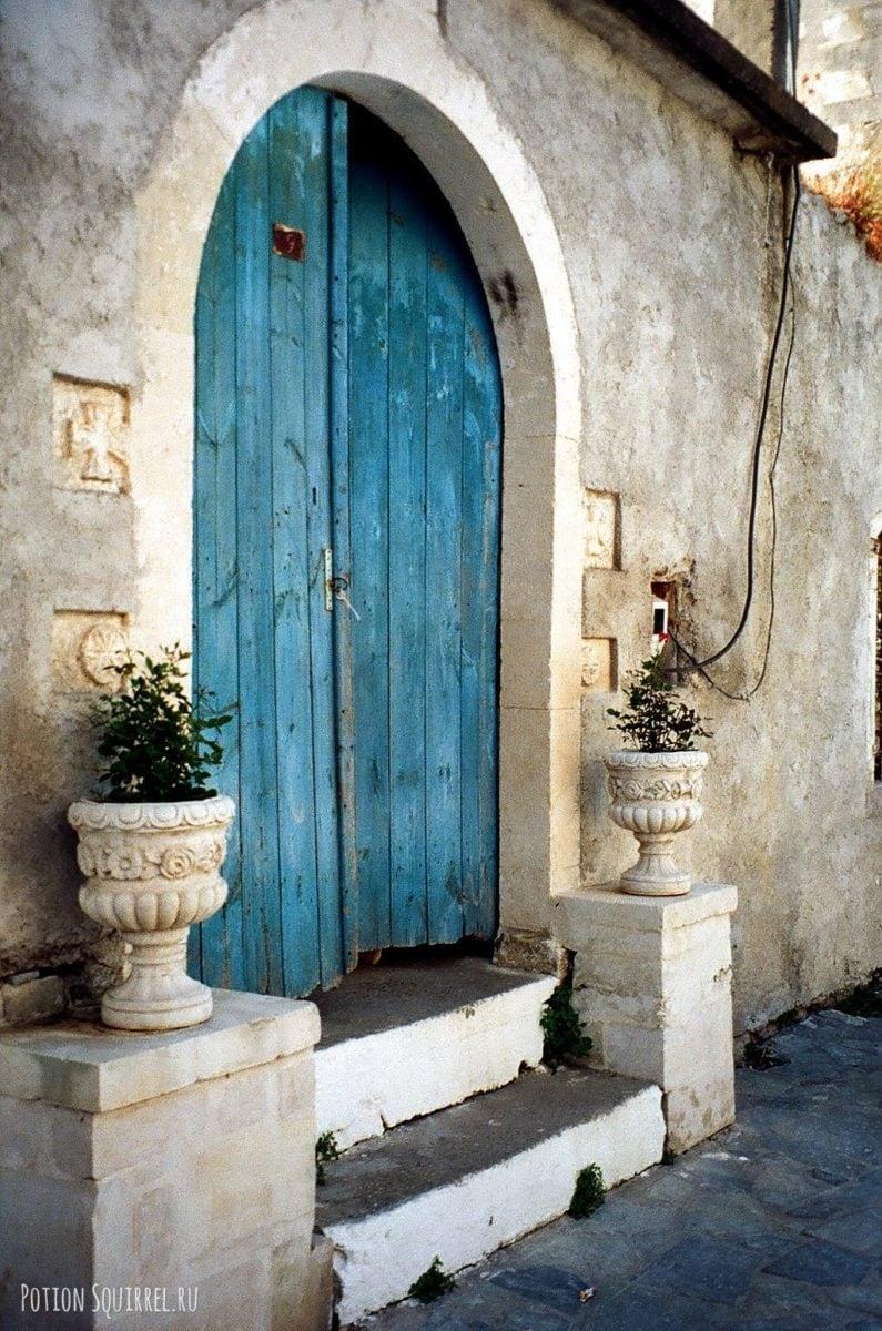 Красивые двери Ретимно. Старый город
