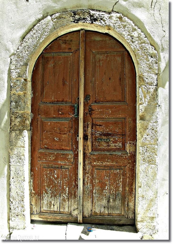 Старинные двери Ретимно
