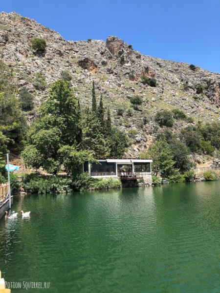 Озеро Зарос. Центральный Крит