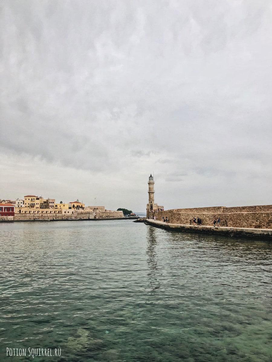 Внецианский порт и маяк