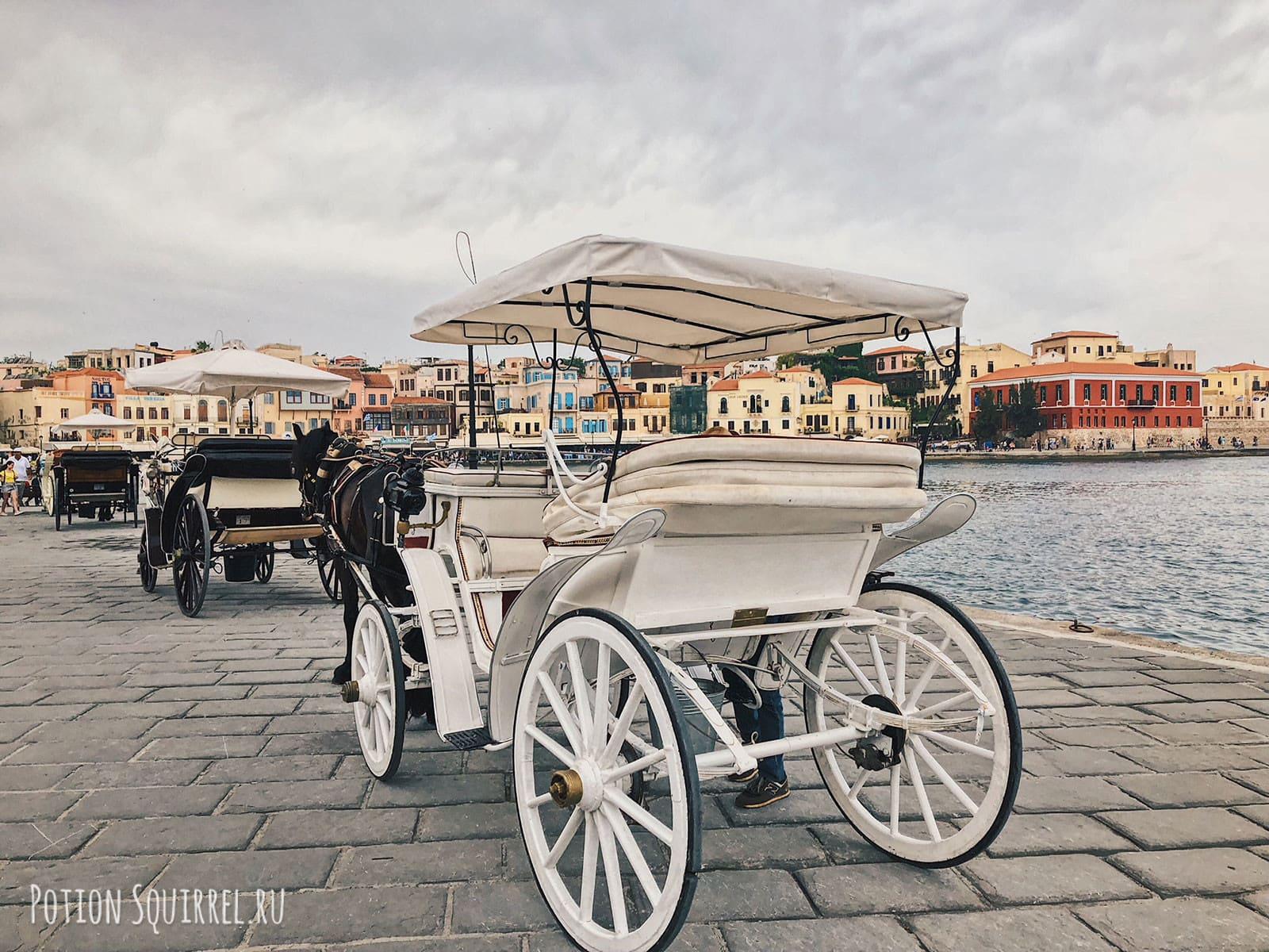 Повозки для быстрого тура вокруг порта
