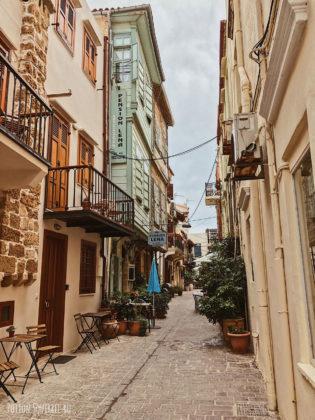 Особенные улицы старой Ханьи