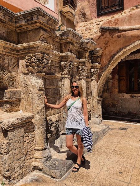 Старый город Ретимно. Питьевой фонтан