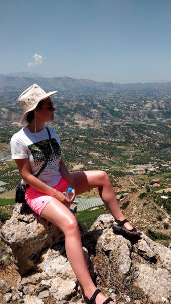 Крит, гора Юхта, Арканес