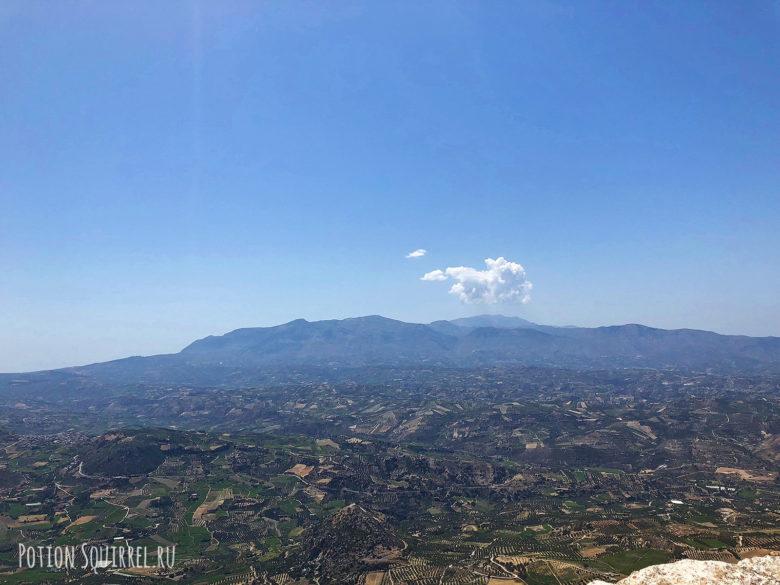 Вид с горы Юхта от храма Христа