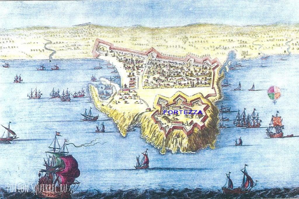 Карта старого Ретимно