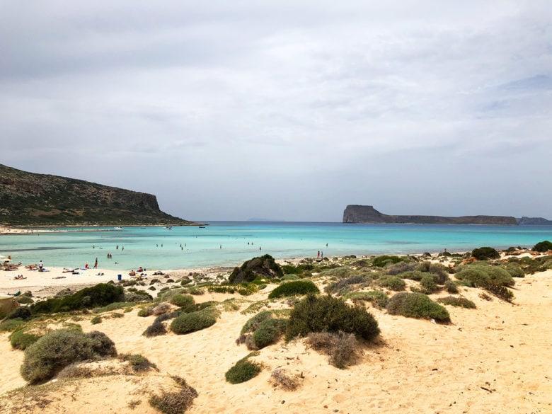 Спуск к пляжу Балос, Крит. Рассказывает potionsquirrel.ru