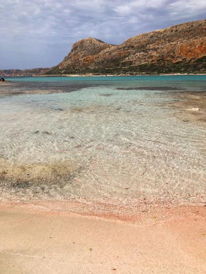Знаменитый критский пляж с розовым песком Балос. Рассказывает potionsquirrel.ru