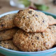 Печенье с киноа и шоколадом