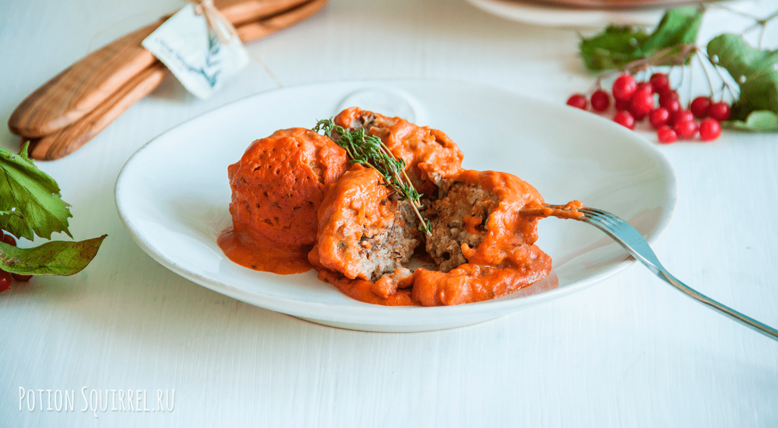 Vegan lentil meatballs in tomatoe sauce by potionsquirrel.ru