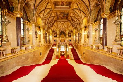 Венгерский Парламент внутри -1