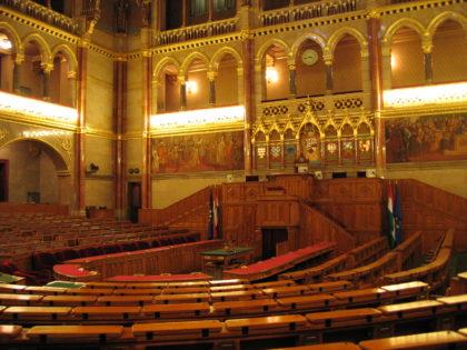 Венгерский Парламент внутри -2