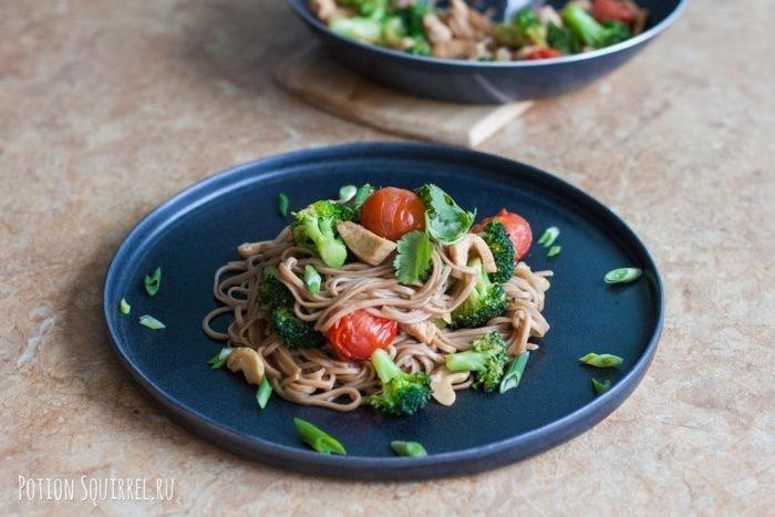Elementary chicken broccoli and cashew recipe from potionsquirrel.ru