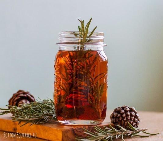 Shishkovye tea recipe from potionsquirrel.ru