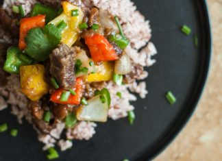 Mongolian-appetizing beef recipe from potionsquirrel.ru