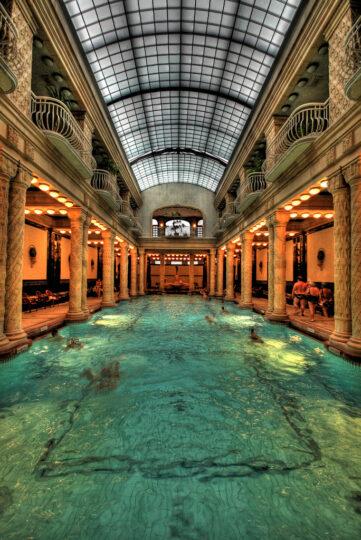 Gellert Bath Indoor Pool