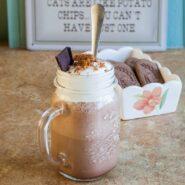 Шоколадно-кофейный молочный коктейль